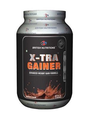 British Nutrition Vb609 Extra Gainer Chocolate Flavour 1Kg