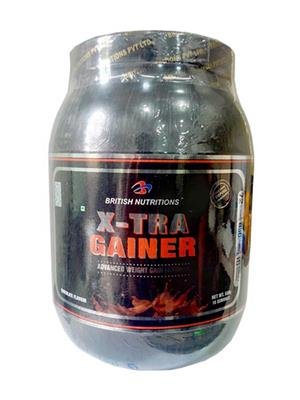 British Nutrition Vb610 Extra Gainer Chocolate Flavour 500G