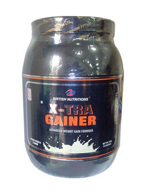 British Nutrition Vb612 Extra Gainer Vanilla Flavour 500G