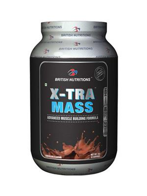 British Nutrition Vb613 Extra Mass Chocolate Flavour 1Kg
