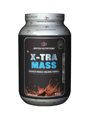 British Nutrition Vb614 Extra Mass Chocolate Flavour 1Kg