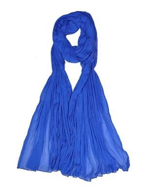 V Brown VBCD0025 Blue Women Dupatta