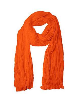 V Brown VBCD0035 Orange Women Dupatta