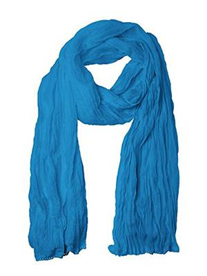 V Brown VBCD0065 Navy Blue Women Dupatta