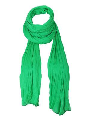 V Brown VBCD0098 Green Women Dupatta