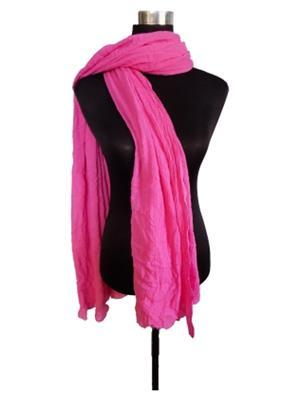 V Brown VBCD0121 Pink Women Dupatta
