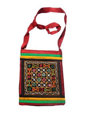 V Brown Vbkhbdsb14001 Maroon Potli Bag