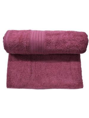 V Brown VBSBT001 Maroon Bath Towel