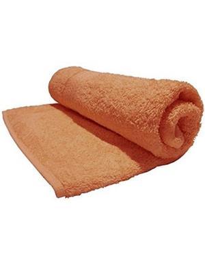 V Brown VBSBT007 Orange Bath Towel