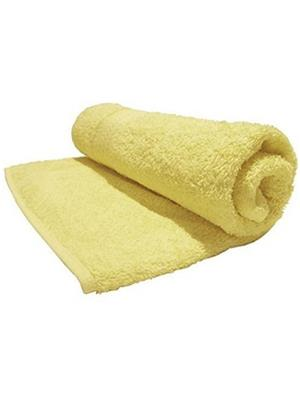 V Brown VBSBT016 Yellow Bath Towel