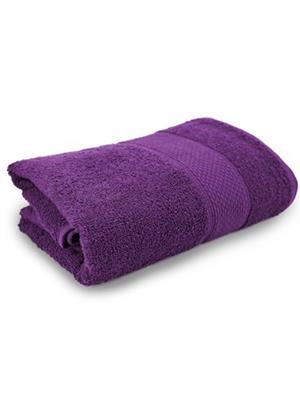 V Brown VBSBT026 Purple Bath Towel