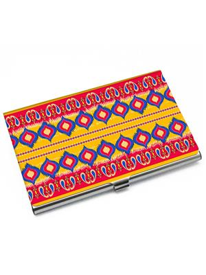 Kolorobia VCHIKT16 Wondrous Ikat Card Holder