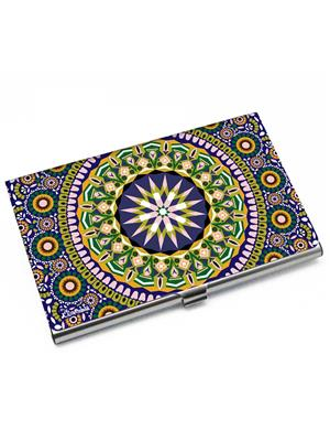 Kolorobia VCHMO13 Charming Moroccan Card Holder