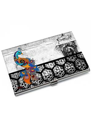 Kolorobia VCHP03 Royal Peacock Visiting Card Holder