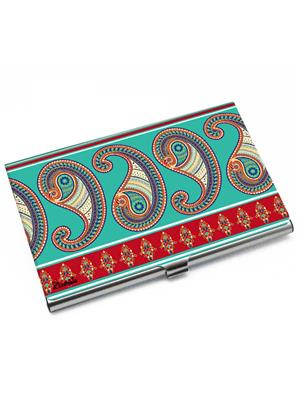 Kolorobia VCHPS12 Classic Paisley Visiting Card Holder
