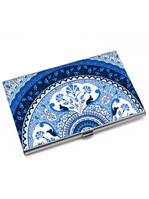 Kolorobia VCHTUB17 Turkish Blue Visiting Card Holder