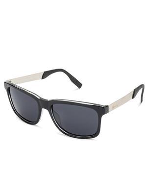 Velocity VCP14-BLKBRNSMK Black Unisex Wayfarer Sunglasses