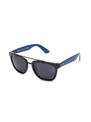 Velocity VCP15-BLKBLUSMK Black Unisex Wayfarer Sunglasses