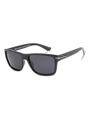 Velocity VCP16-BLKGNSMK Black Unisex Wayfarer Sunglasses