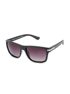 Velocity VCP16-BLKSILRGRDSMK Black Unisex Wayfarer Sunglasses