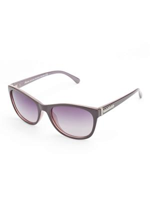 Velocity VCP17-PURPGRDPURP Purple Unisex Cateye Sunglasses