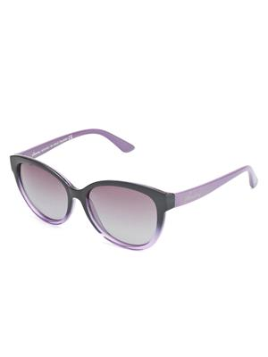 Velocity VCP19-PURPLEBLUE Purple Unisex Cateye Sunglasses