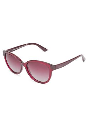 Velocity VCP19-REDGRDRED Red Unisex Cateye Sunglasses