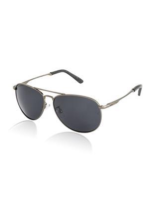Velocity VCP36GUNSMK1 Grey Unisex Aviator Sunglasses