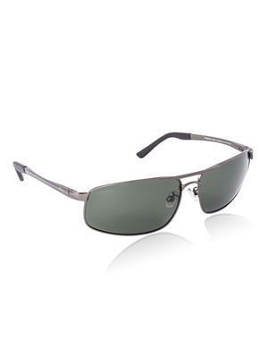 Velocity VCPOL24MATTGUN Grey Unisex Square Sunglasses