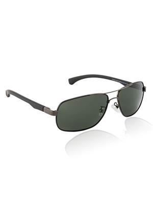 Velocity VCPOL25MTGUN Grey Unisex Square Sunglasses