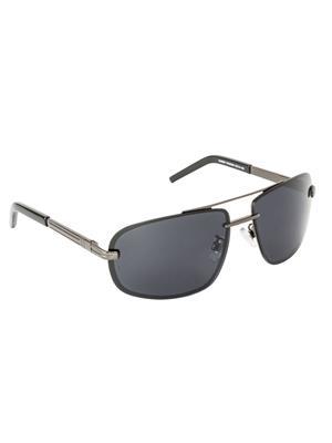 Velocity VCPOL27MTGUNSMK Grey Unisex Wrap Sunglasses