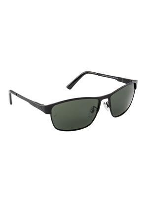 Velocity VCPOL30MTBLKG15 Black Unisex Square Sunglasses