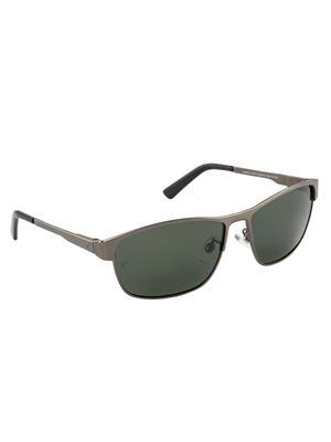 Velocity VCPOL30MTGUNG15 Grey Unisex Square Sunglasses