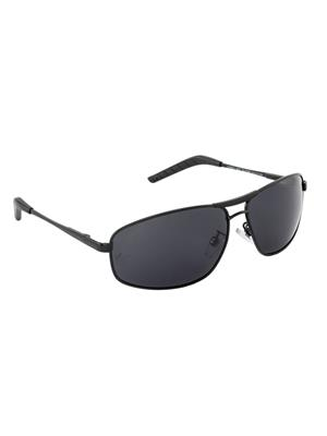 Velocity VCPOL31BLKSMK Black Unisex Square Sunglasses
