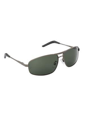 Velocity VCPOL31MTGUNG15 Grey Unisex Square Sunglasses