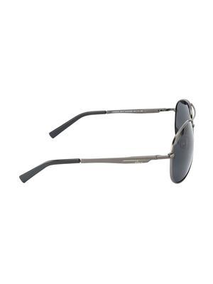 Velocity VCPOL35MTGUNSMK Grey Unisex Aviator Sunglasses