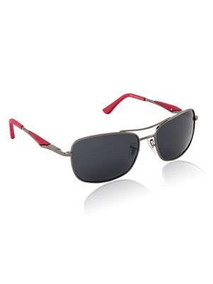 Velocity VCPOL41GUNSMK Grey Unisex Square Sunglasses