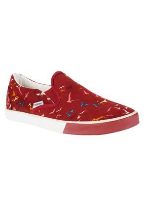 Vostro VCS0057 Red Men Casual Shoes