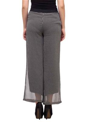 Diva DV30 Black Women Plazzo Pants