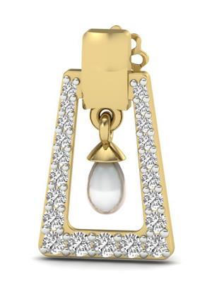 Vizyra VE02065 Gold Women Drop Earring