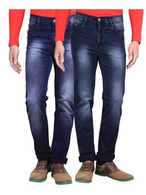 Vangalis VG-2CM-38138-RP-3-2 Blue Men jeans Combo Pack