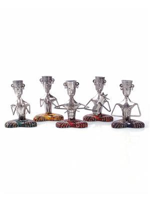 VarEesha Vgbtd013 Multicolored Metal Showpieces