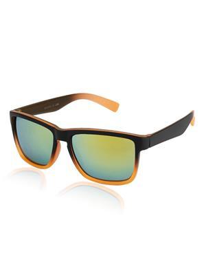 Rafa VIVABLKORN Black Unisex Wayfarer Sunglasses