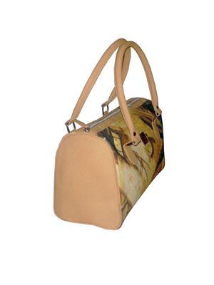 JAJV Beige Women Hand Bags