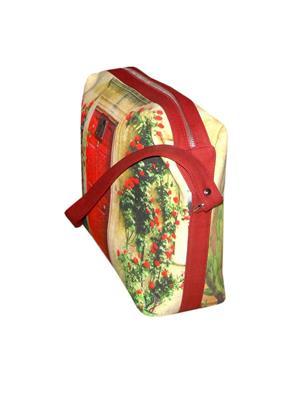 JAJV Maroon Women Hand Bags