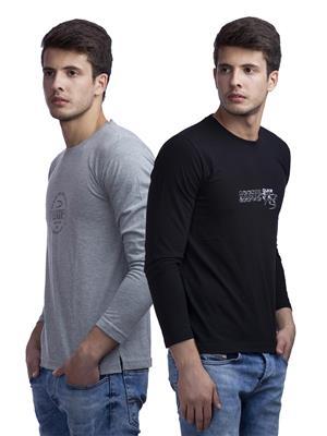 Duke VP70-Venture Multicolored Men T-Shirt Pack of 2