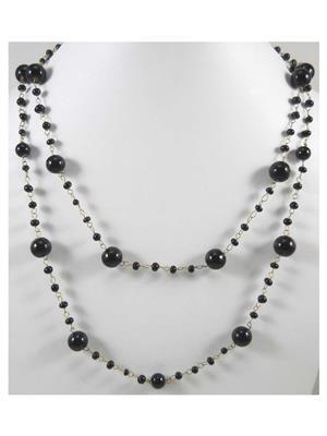 Quail Vpj249 Black Necklace sets