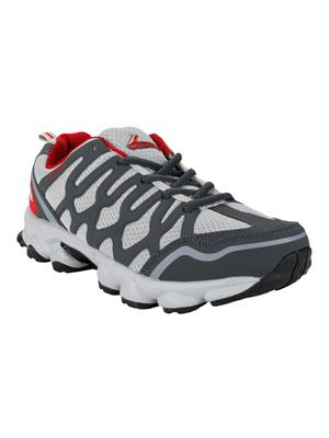 Vostro Vss0040 Grey And Red Men Sports Shoes