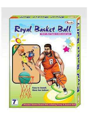 Annie Vta047 Multicolored Royal Basket Ball