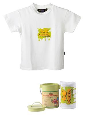 Omved Vxtk0030 White Kids T-Shirt